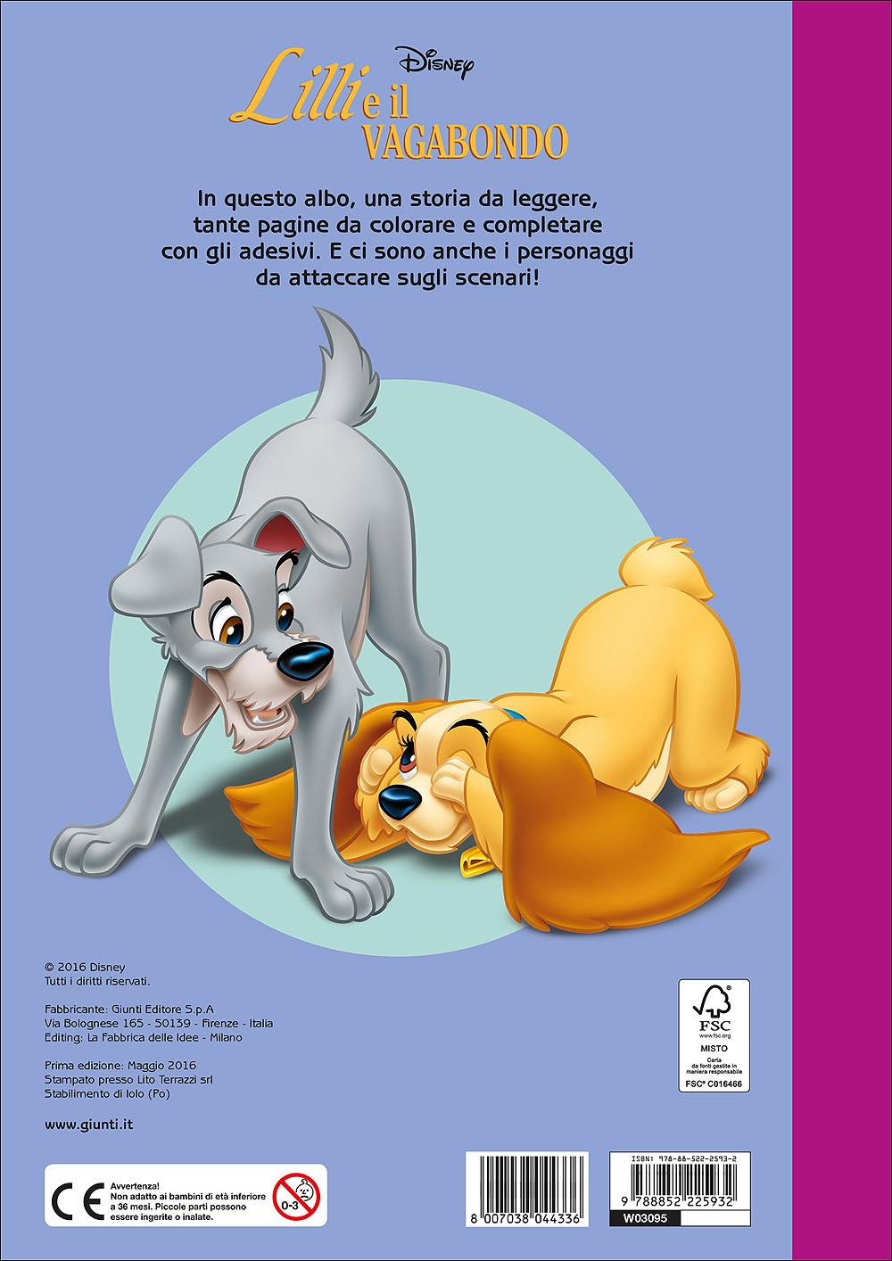 Lilli e il Vagabondo - Staccattacca&Colora