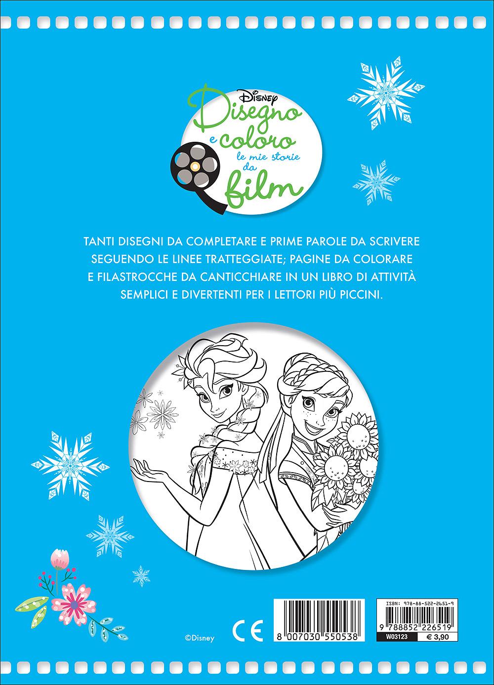 Disegno e Coloro le Mie Storie da Film - Frozen Fever. Tutti in festa