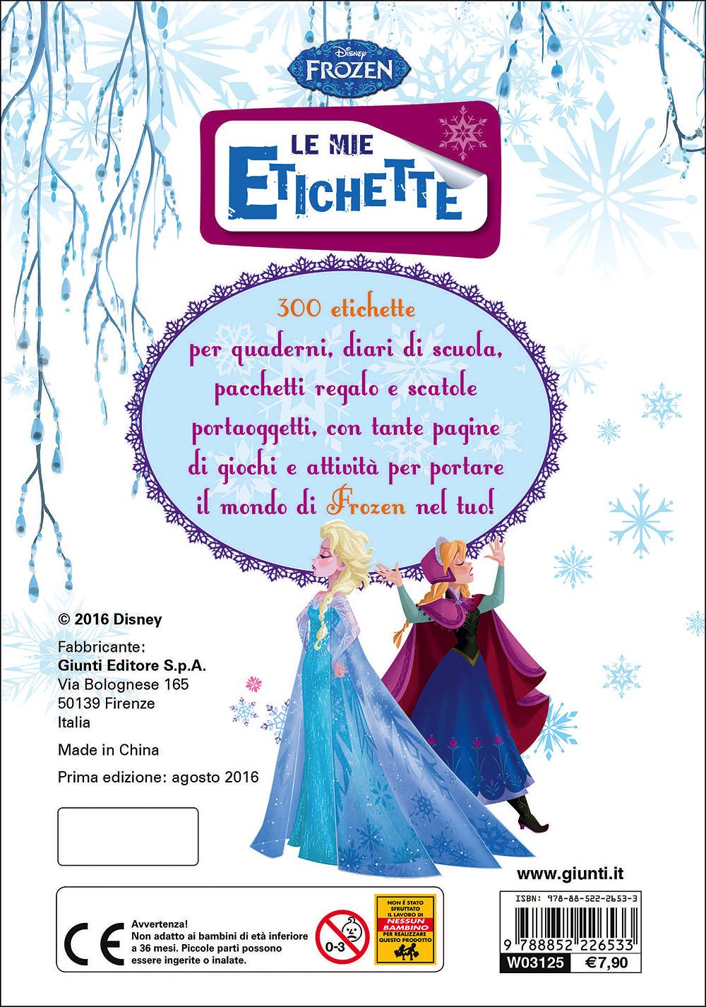 Le Mie Etichette - Frozen