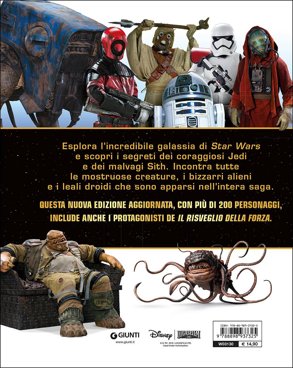 Enciclopedia dei Personaggi - Star Wars. La Guida ai personaggi dalla A alla Z