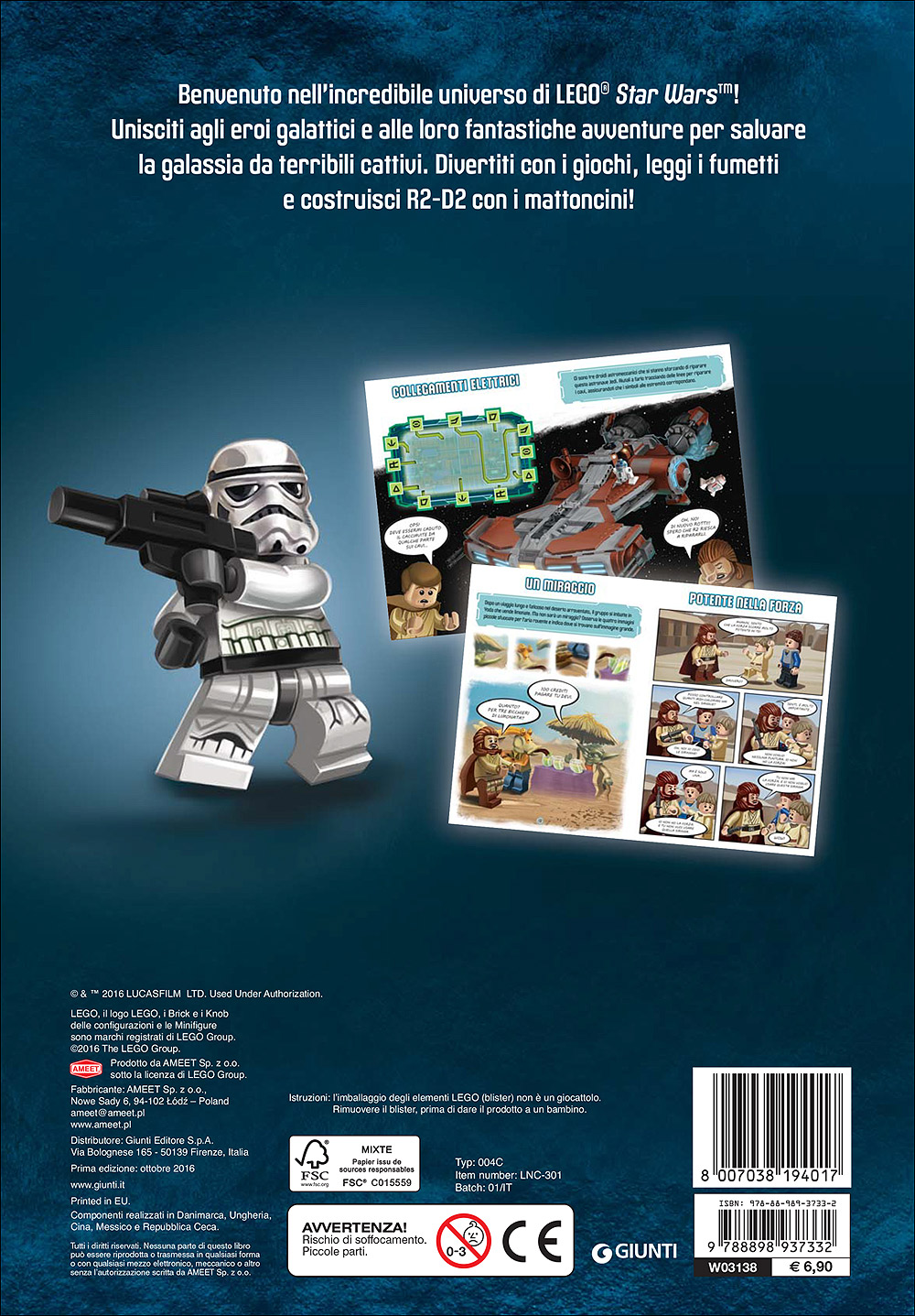 Super Album - Star Wars LEGO. Avventure spaziali