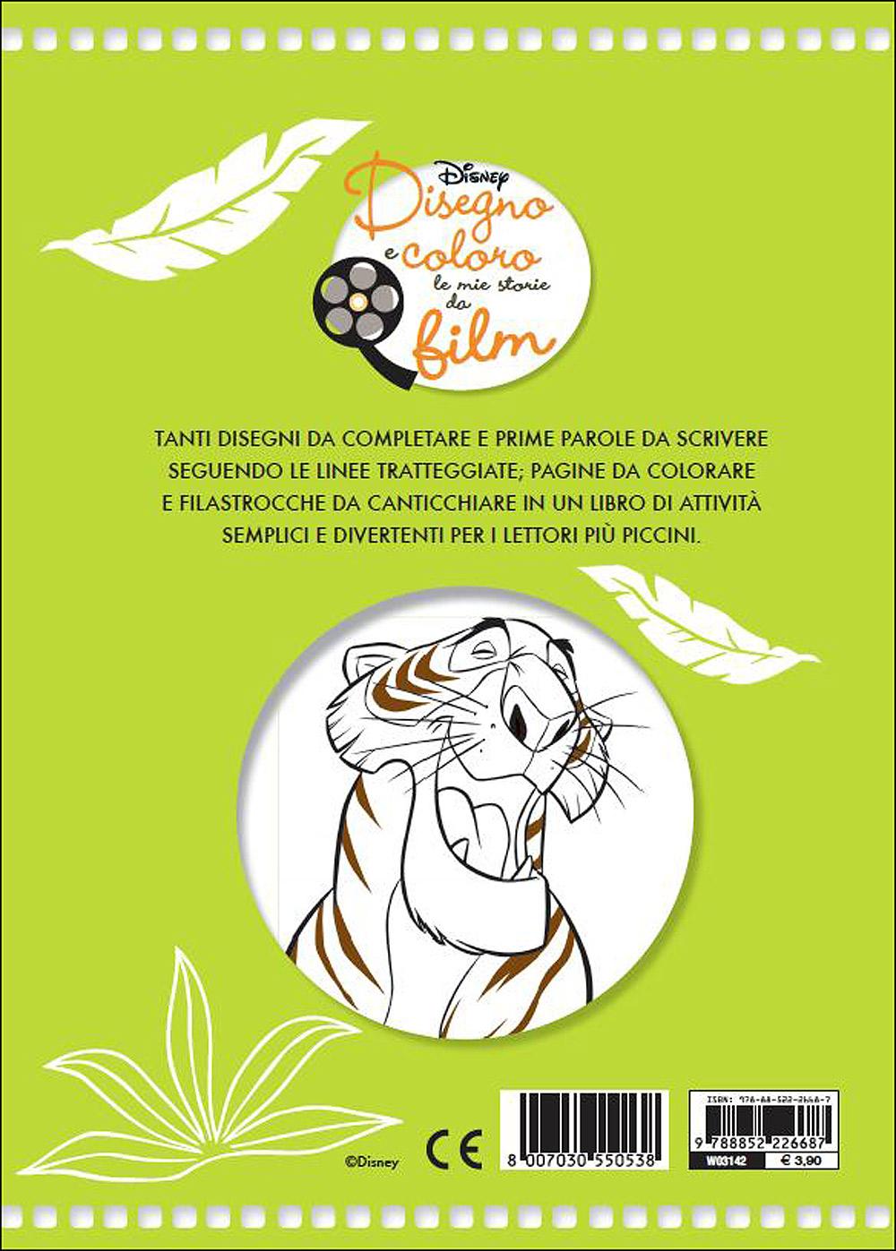 Disegno e Coloro le Mie Storie da Film - Il Libro della Giungla. Natura