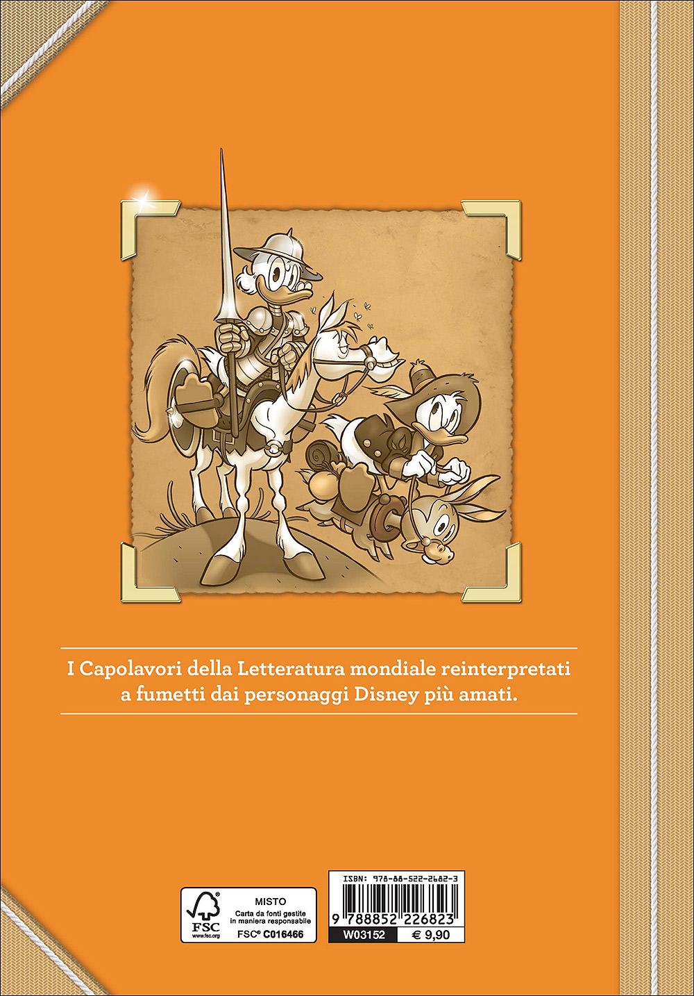 Capolavori della Letteratura - Paperino in Don Chisciotte