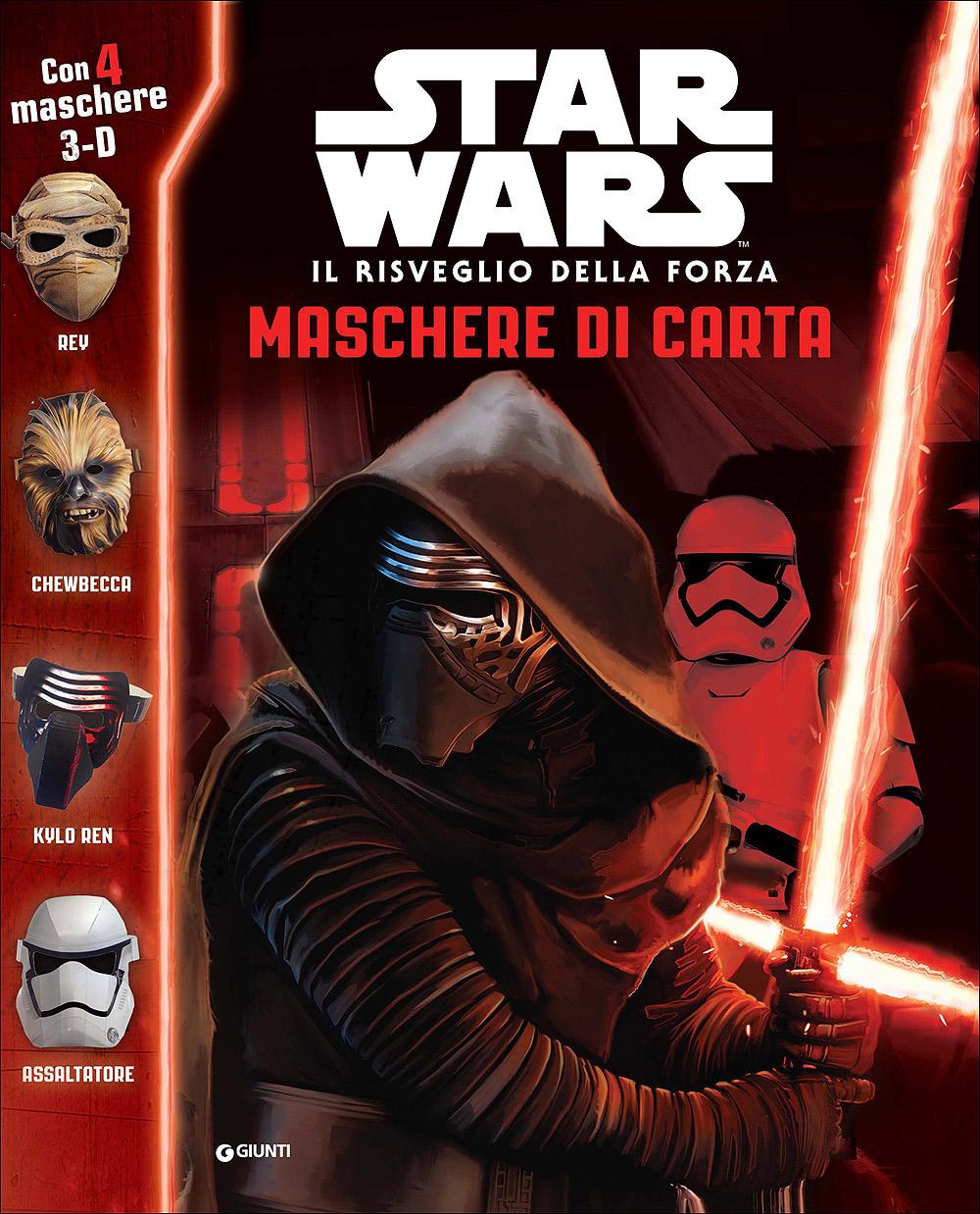 Superattivi - Star Wars Il risveglio della forza. Maschere di carta