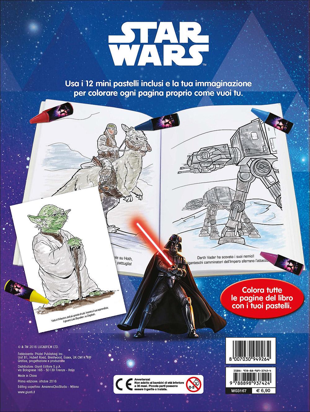 Libro Pastello - Star Wars