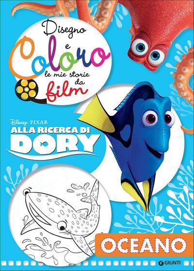 Disegno e Coloro le Mie Storie da Film - Alla ricerca di Dory. Oceano