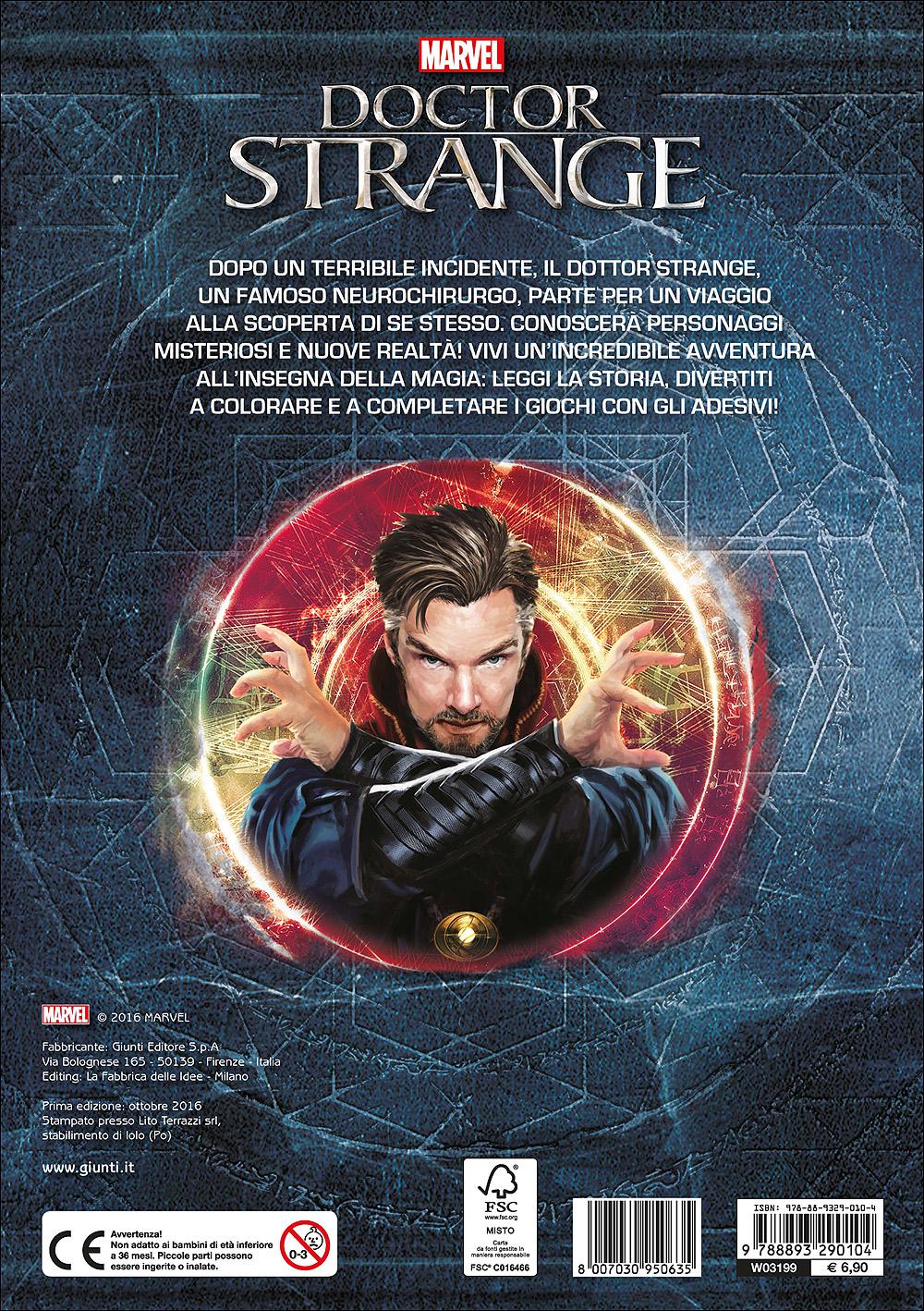 Attacca gli eroi - Doctor Strange. Gioca, colora e attacca gli eroi