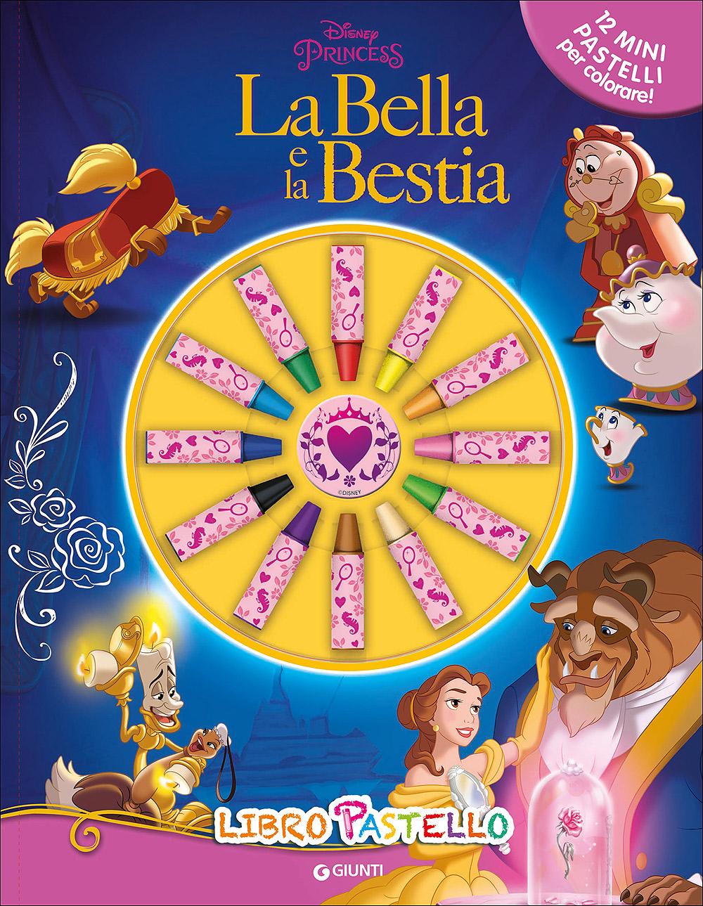 Libro Pastello - La Bella e la Bestia