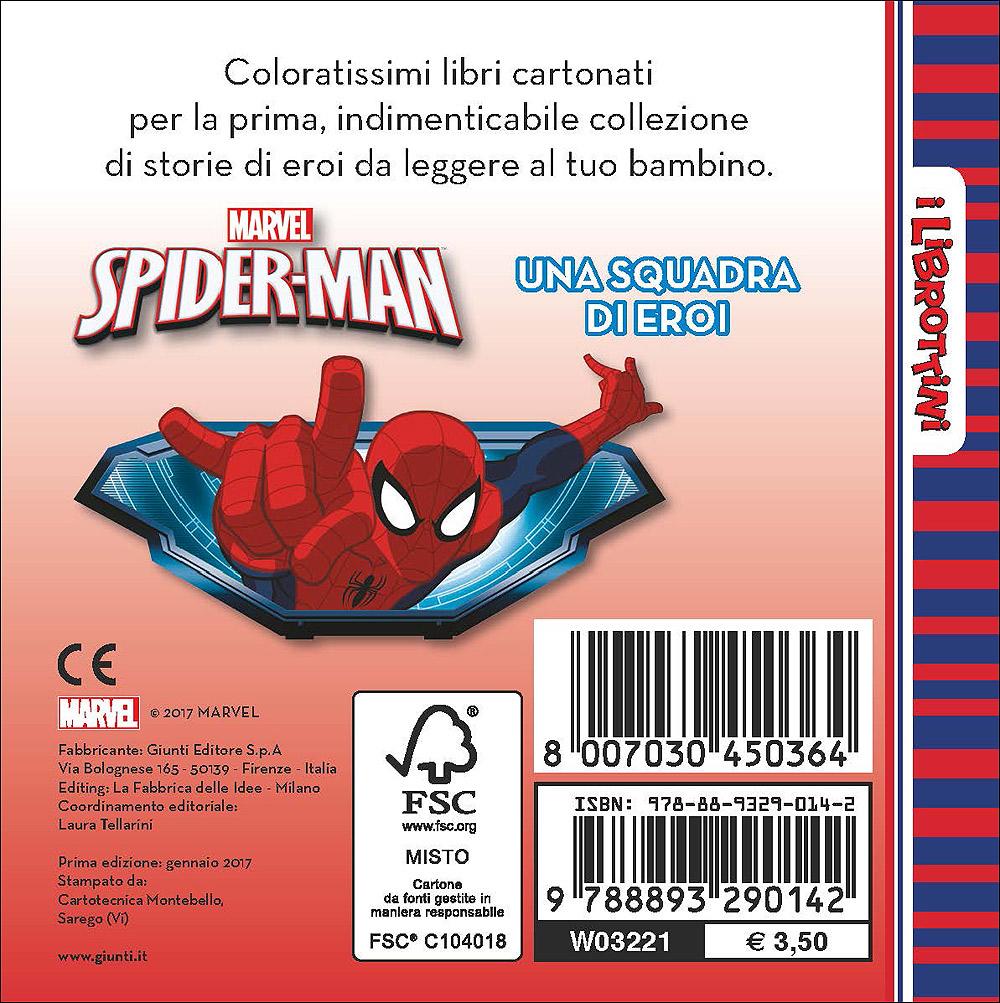 Spider-Man - I Librottini - Una squadra di eroi