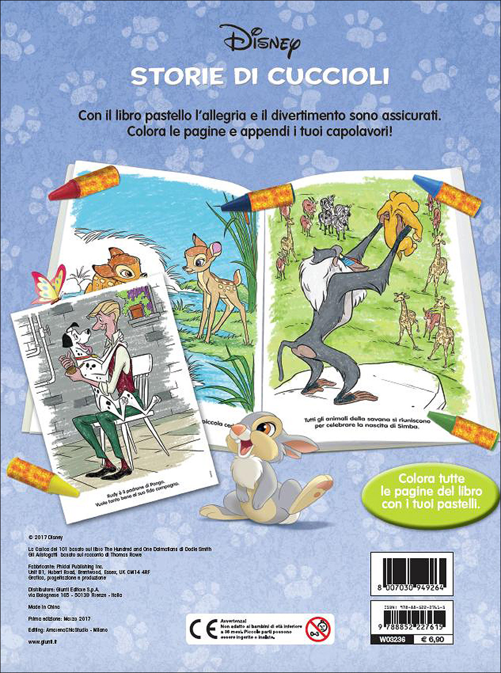 Libro Pastello - Classici Disney. Storie di Cuccioli