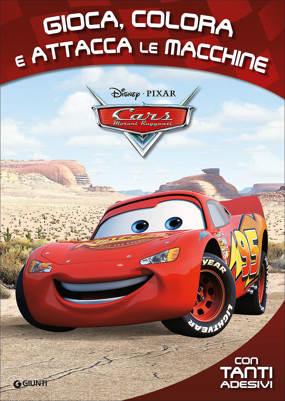 Attacca gli eroi - Cars. Gioca, colora e attacca le macchine