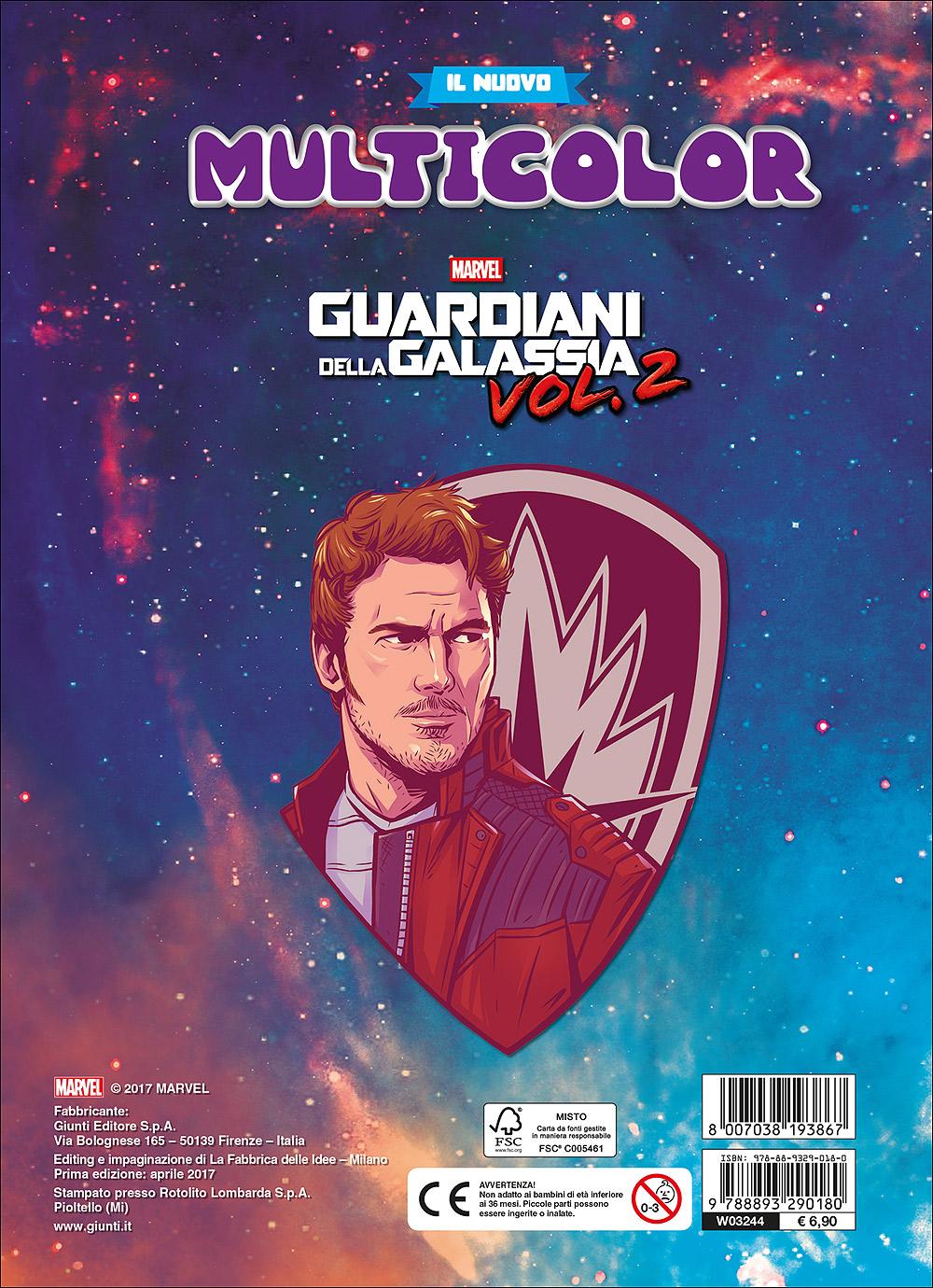 Il nuovo Multicolor - Guardiani della Galassia vol. 2