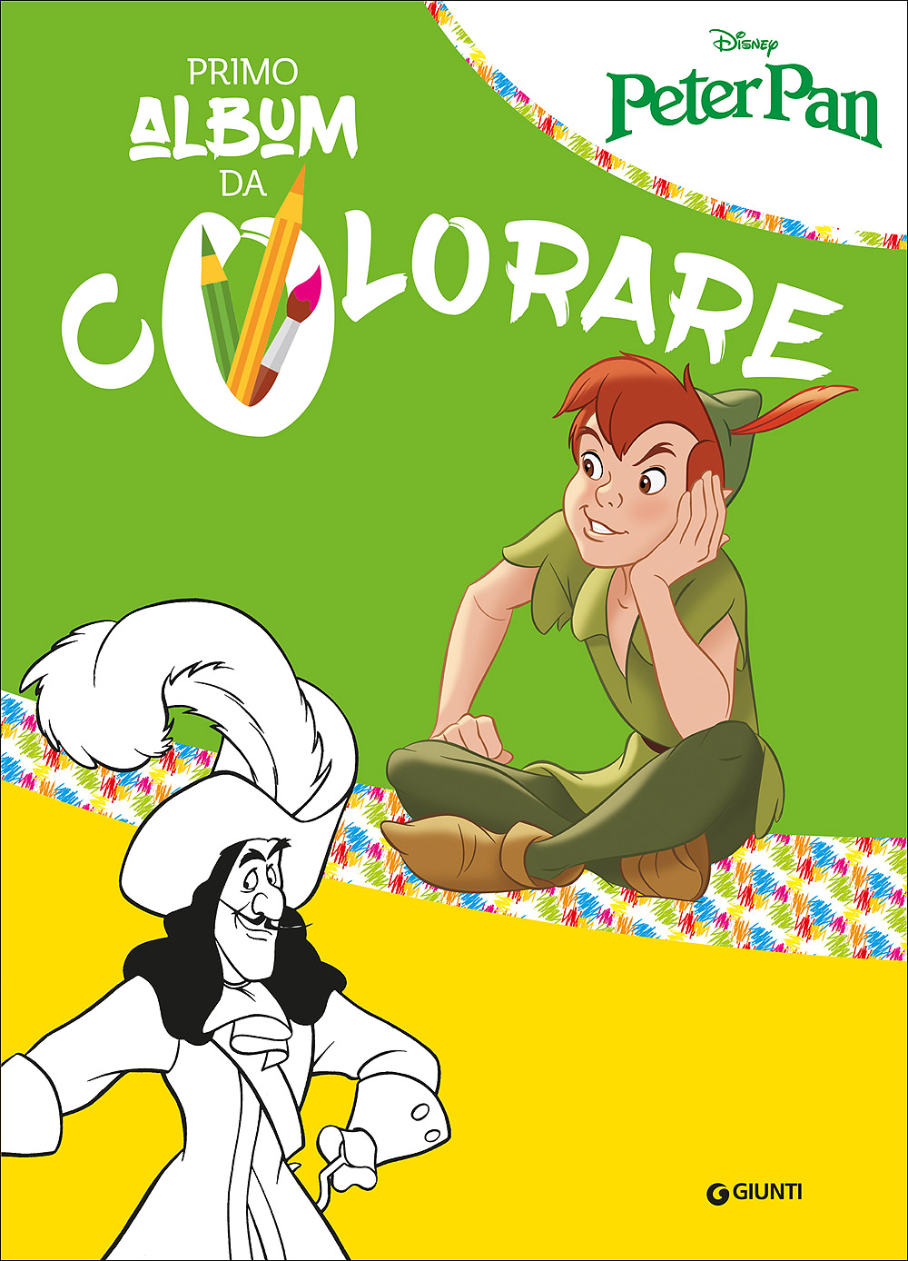 Primo Album da Colorare - Peter Pan