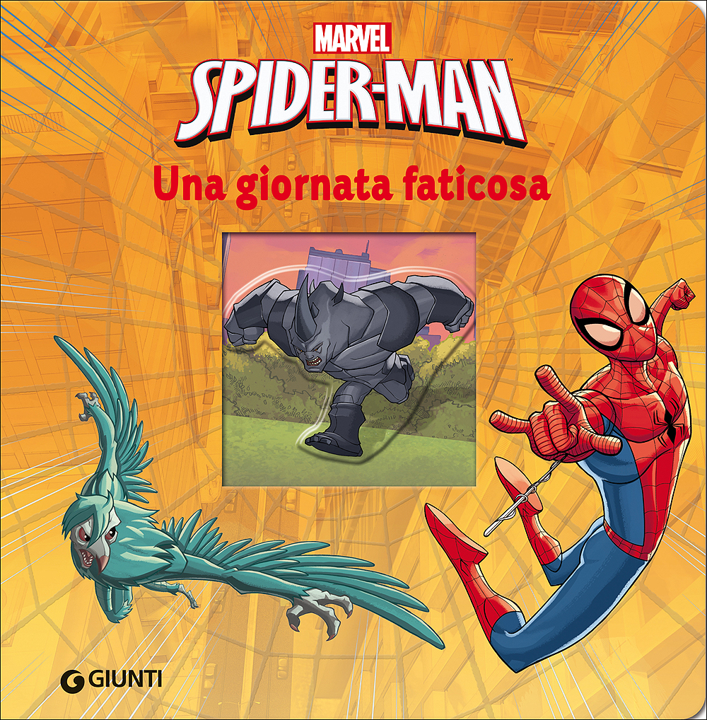 Magie Cartonate - Spider-Man. Una giornata faticosa