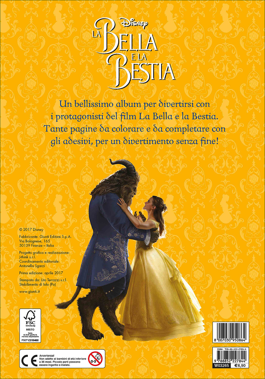 Attacca le Principesse - La Bella e la Bestia (Il film). Gioca, Colora e Attacca