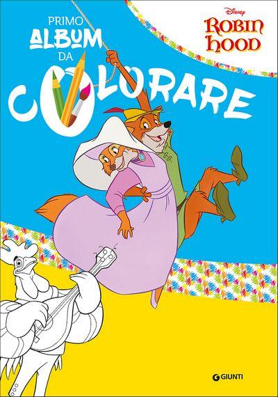 Primo Album da Colorare - Robin Hood