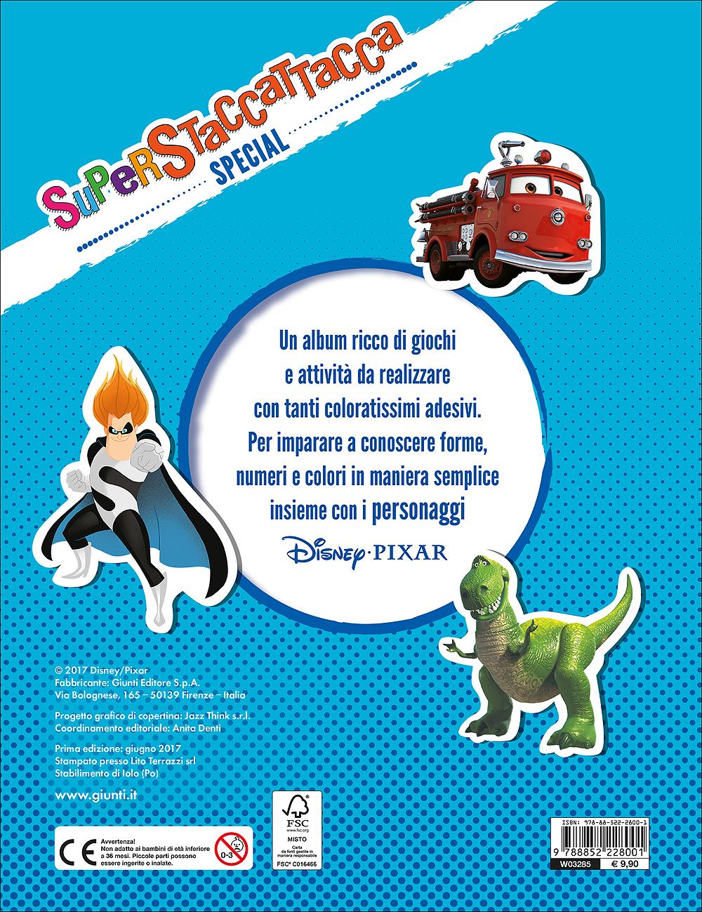 Superstaccattacca Special - Disney-Pixar