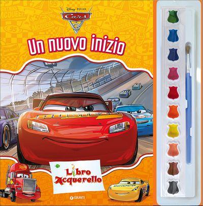 Libro Acquerello - Cars 3. Un nuovo inizio