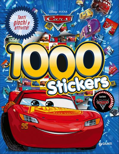 500/1000 Stickers - Cars 3. 1000 Stickers