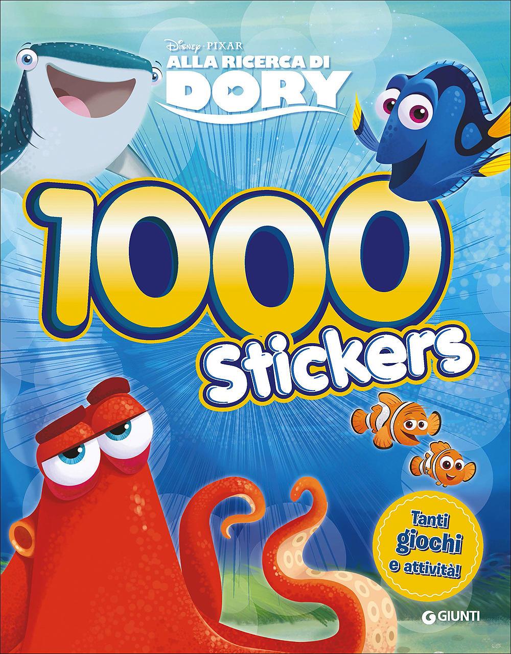 500/1000 Stickers - Alla ricerca di Dory. 1000 Stickers