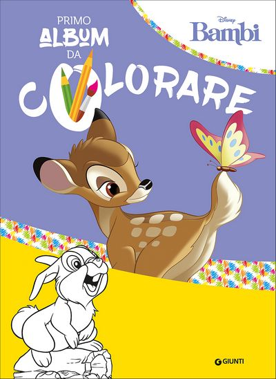 Primo Album da Colorare - Bambi