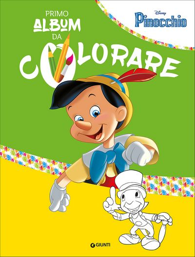 Primo Album da Colorare - Pinocchio