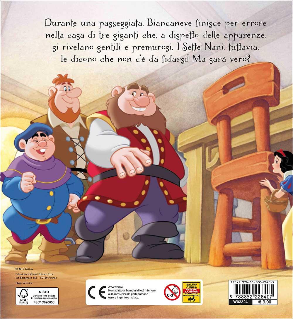 Magie Cartonate - Biancaneve e i Sette Nani. I tre giganti