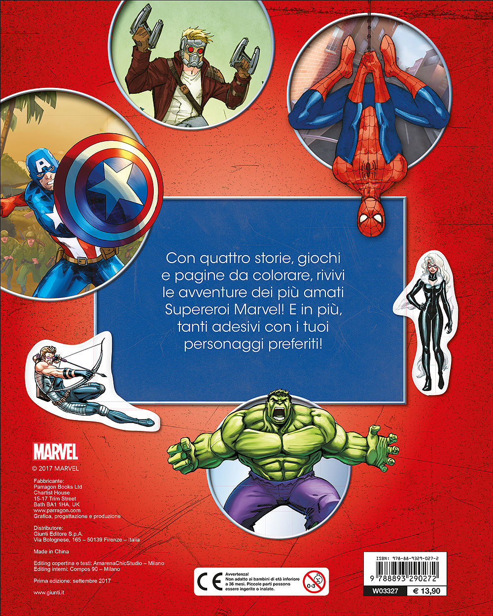 Il Super Tuttolibro Marvel Giunti