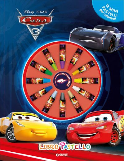 Libro Pastello - Cars 3