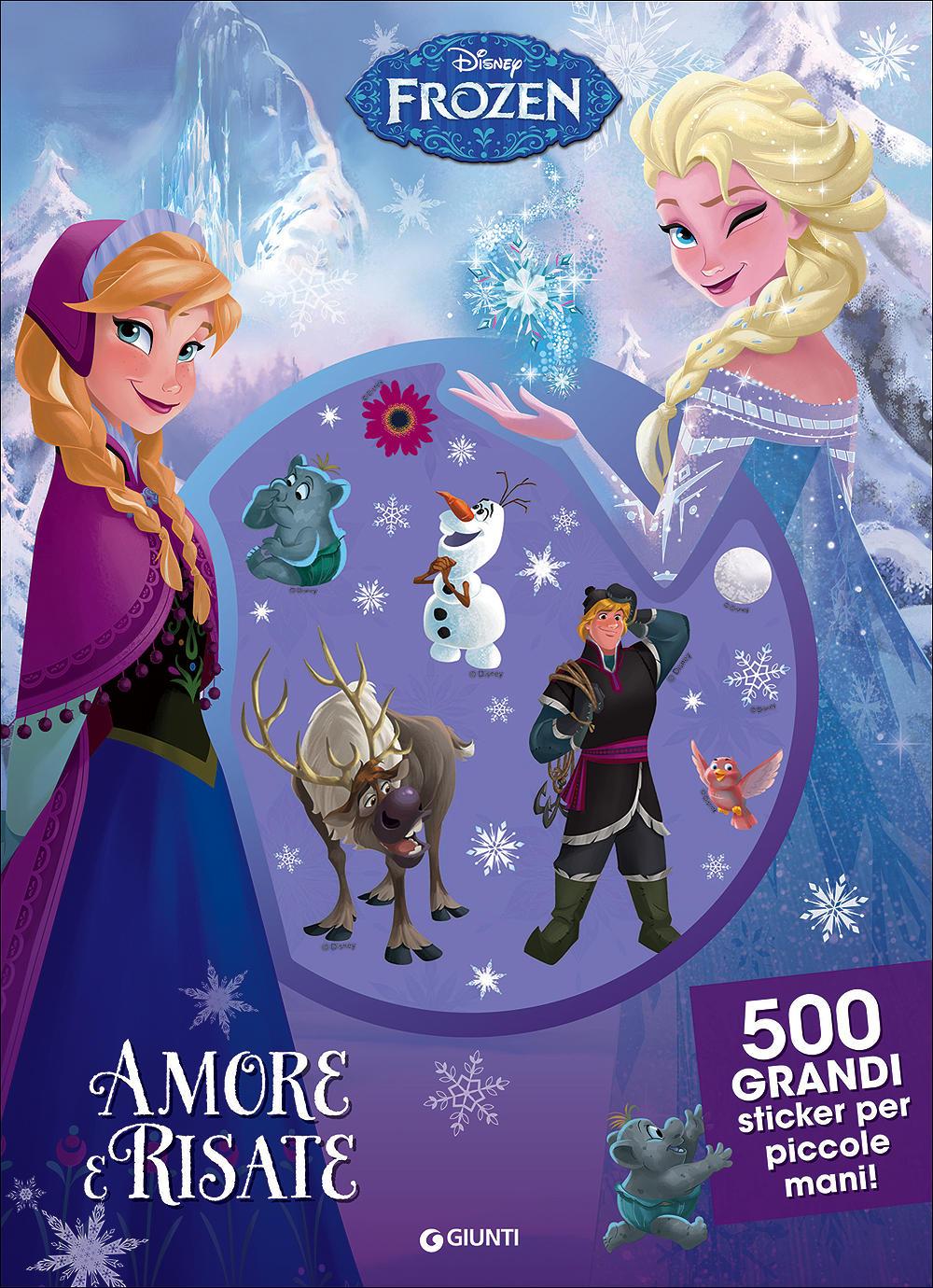 500/1000 Stickers - Frozen. Amore e Risate