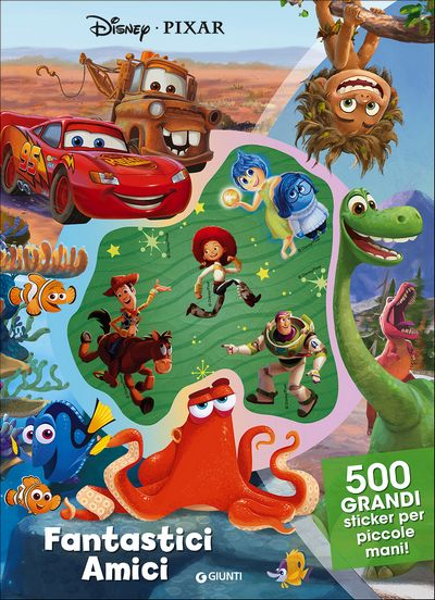 500/1000 Stickers - Disney-Pixar. Fantastici Amici