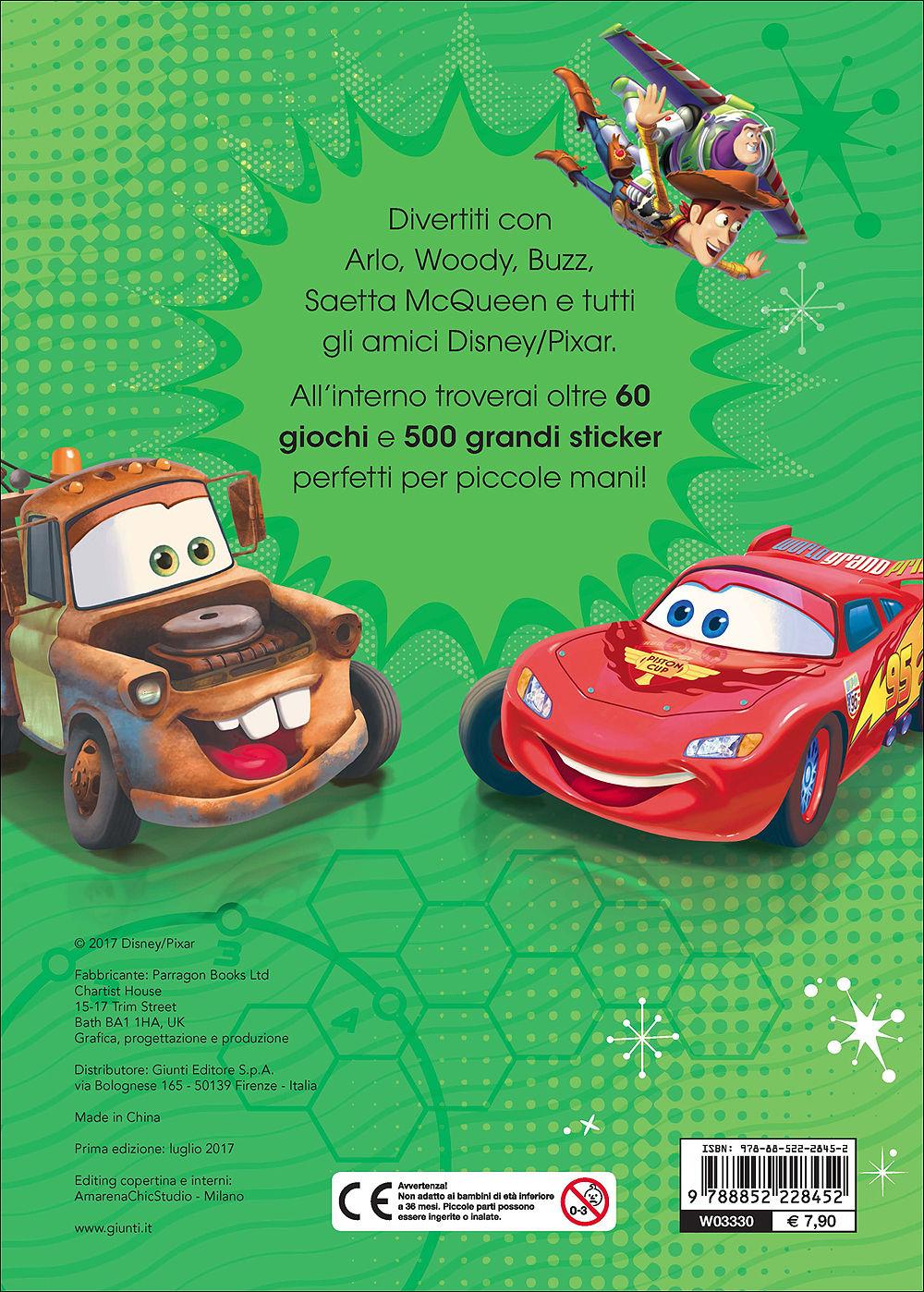 500/1000 Stickers - Disney-Pixar. Fantastici Amici