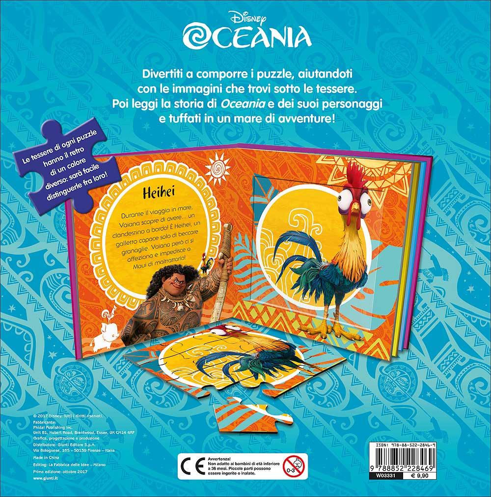 Libri Puzzle - Oceania