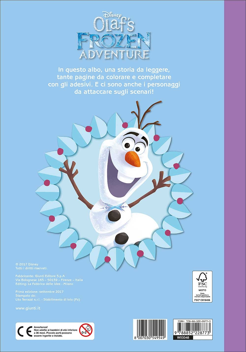 Olaf's Frozen Adventure - Staccattacca&Colora