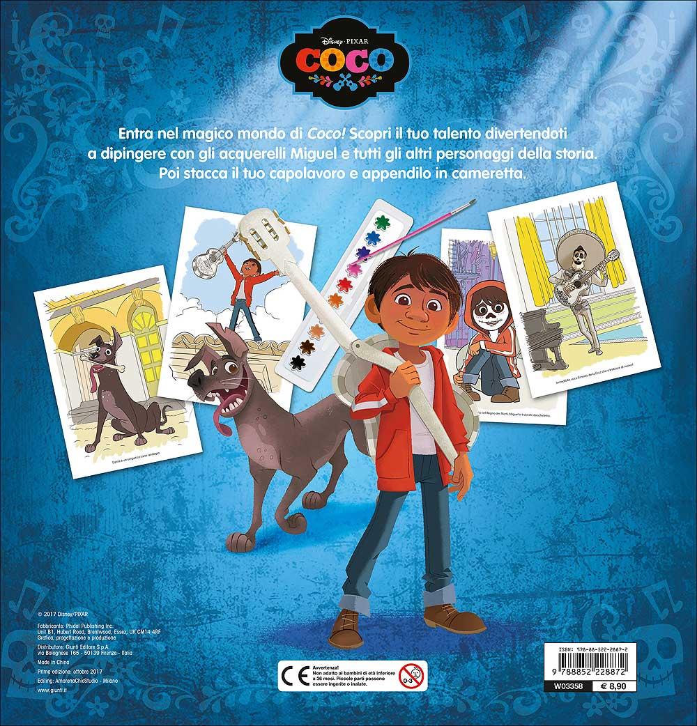 Libro Acquerello - Coco