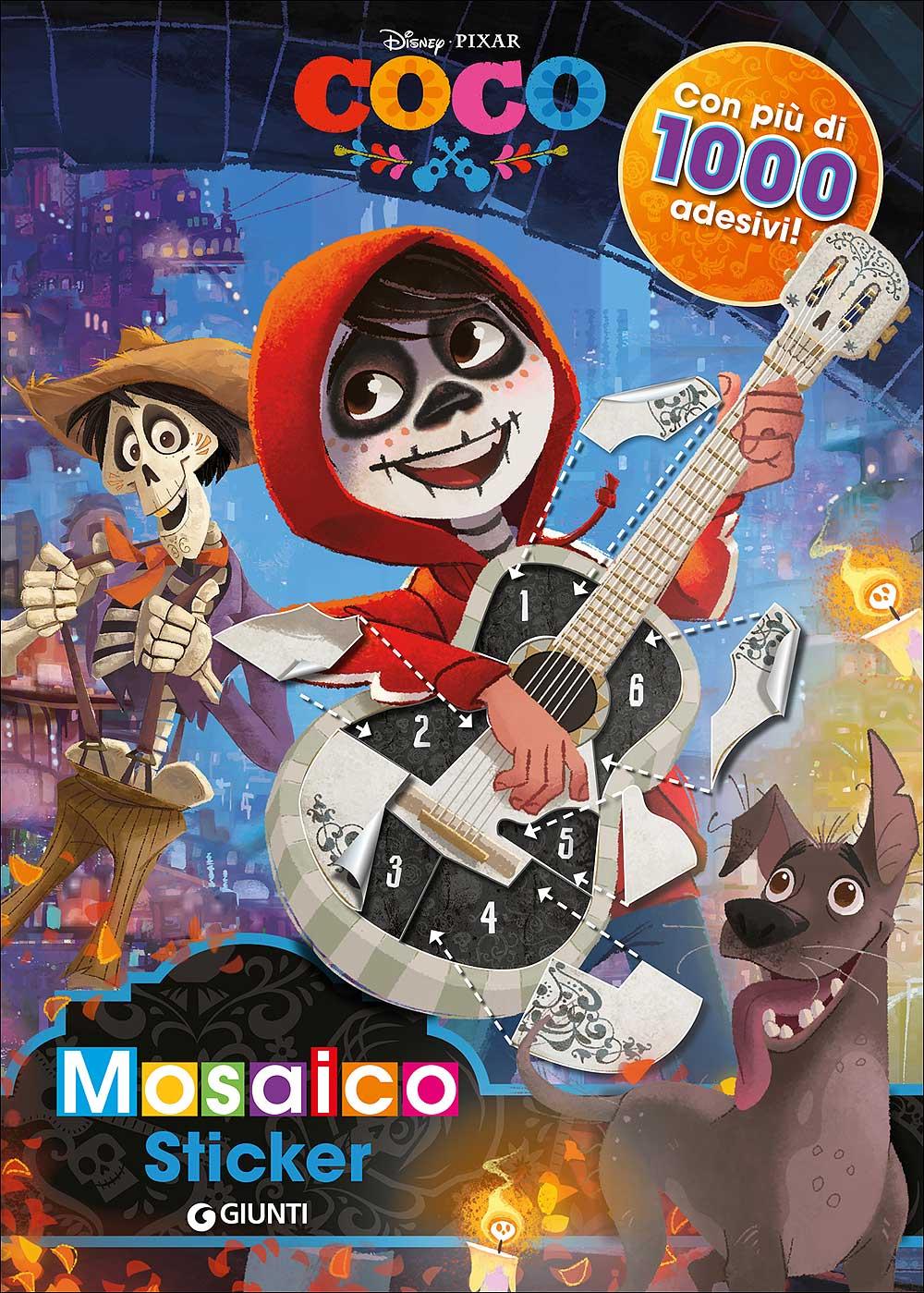 Mosaico Stickers - Coco