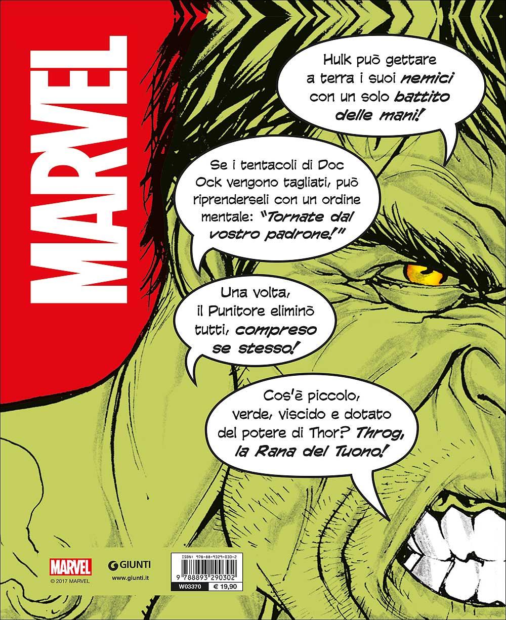 Enciclopedia dei Personaggi - Tutto quello che non sai su Marvel