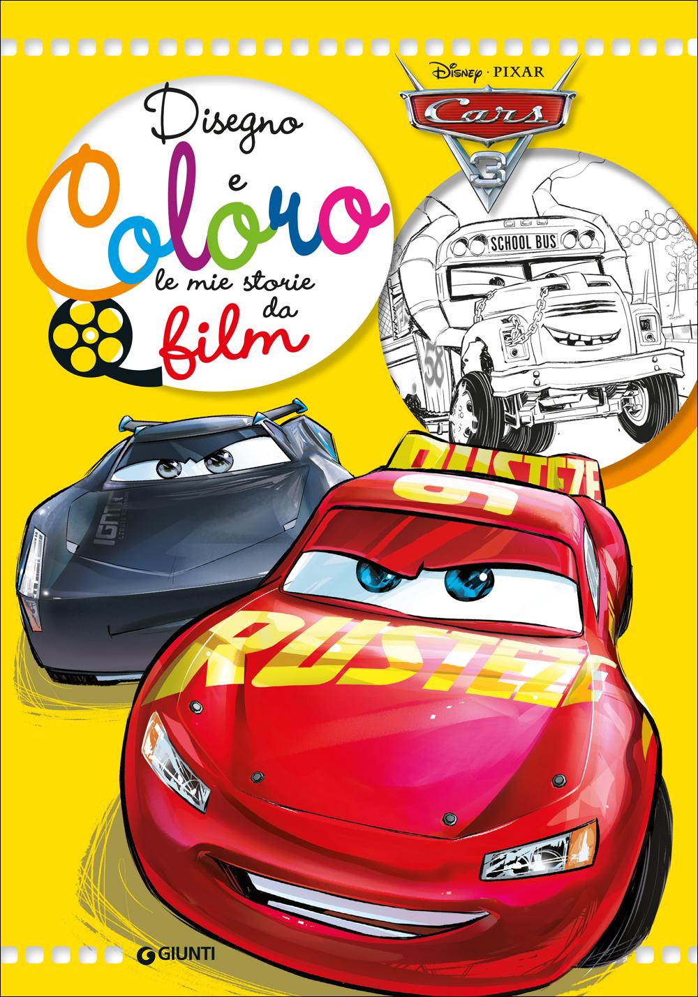 Disegno E Coloro Le Mie Storie Da Film Cars 3 Giunti