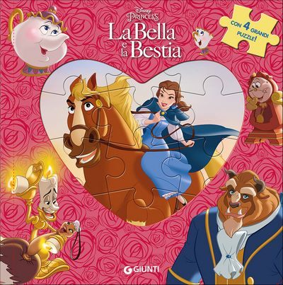Libri Puzzle - Principesse. La Bella e la Bestia