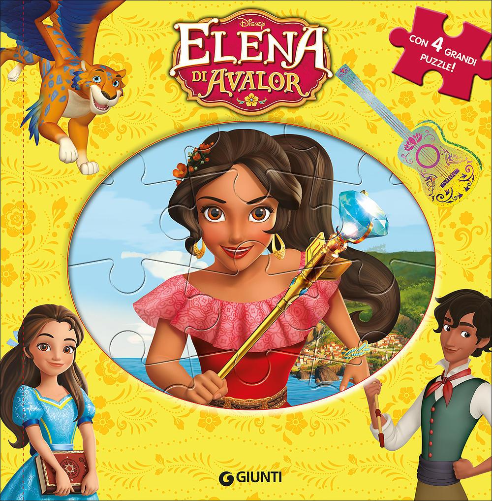 Libri Puzzle - Elena di Avalor