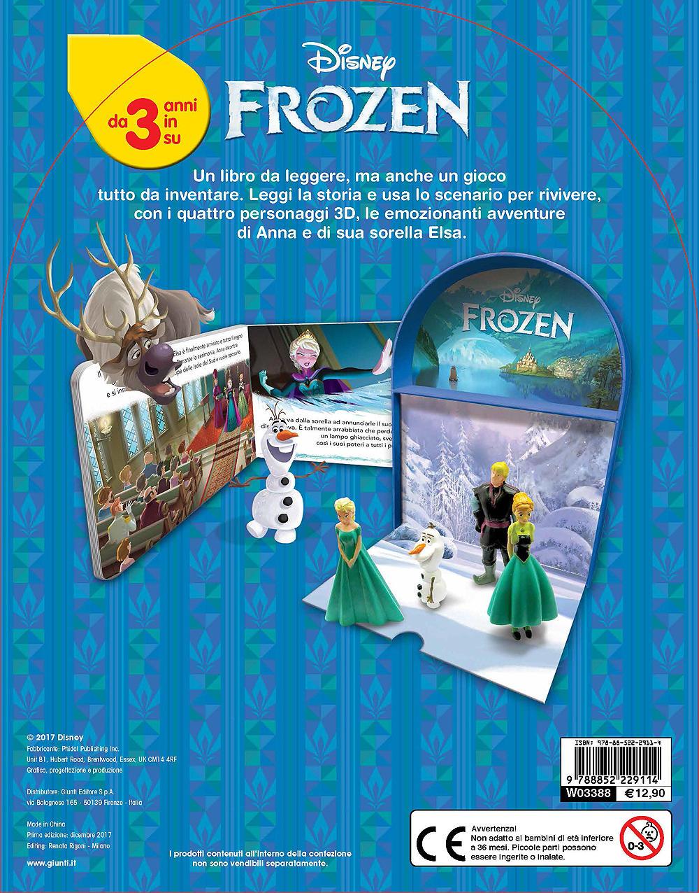 Frozen - LibroGiocaKit