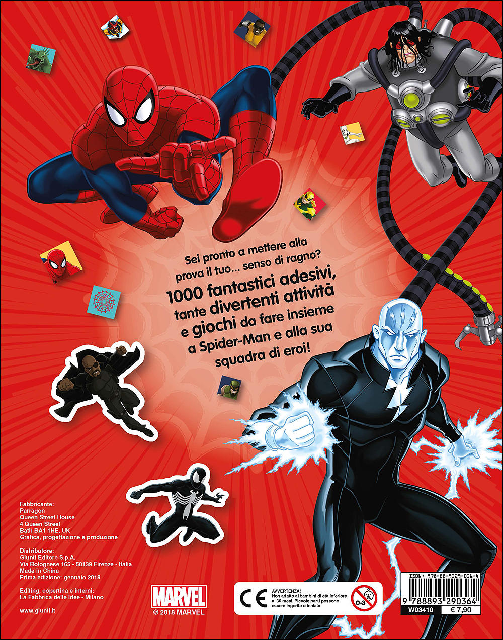 500/1000 Stickers - Ultimate Spider-Man. 1000 Stickers
