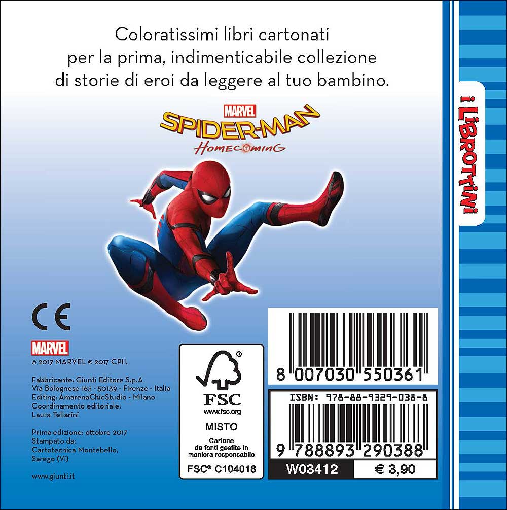 Spider-Man Homecoming - I Librottini