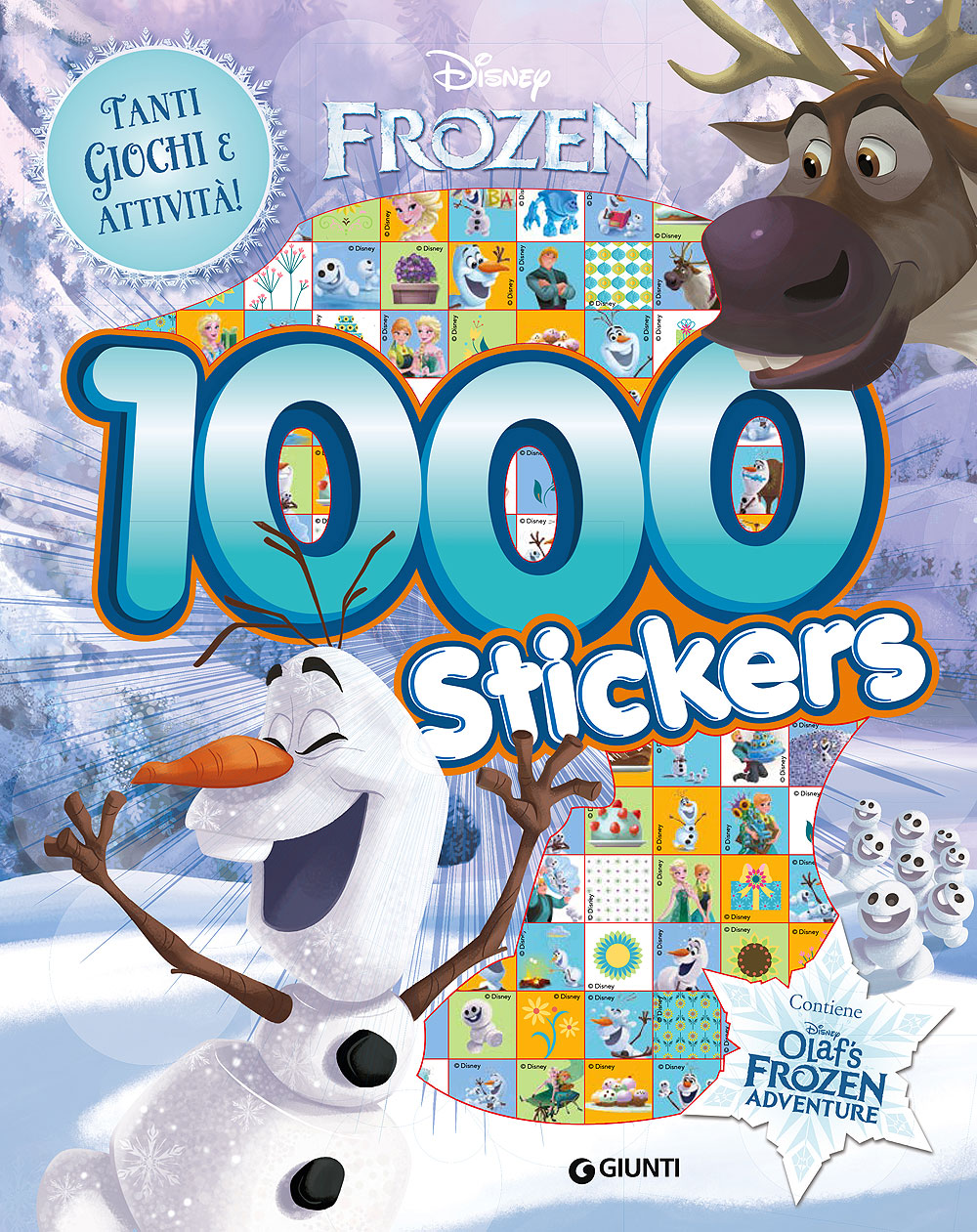 500/1000 Stickers - Frozen. 1000 Stickers