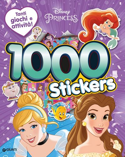 500/1000 Stickers - Principesse. 1000 Stickers