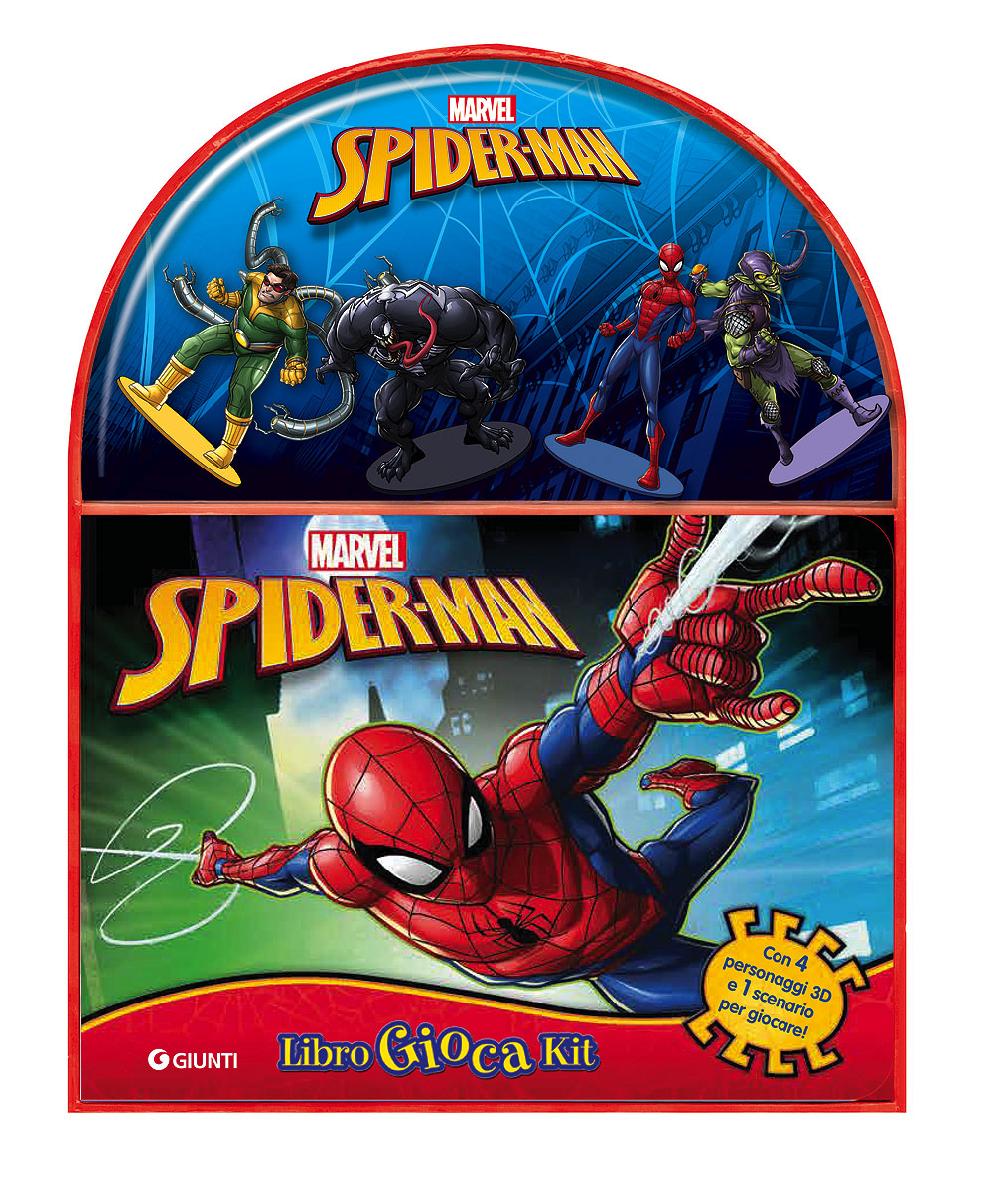 Spider-Man - LibroGiocaKit