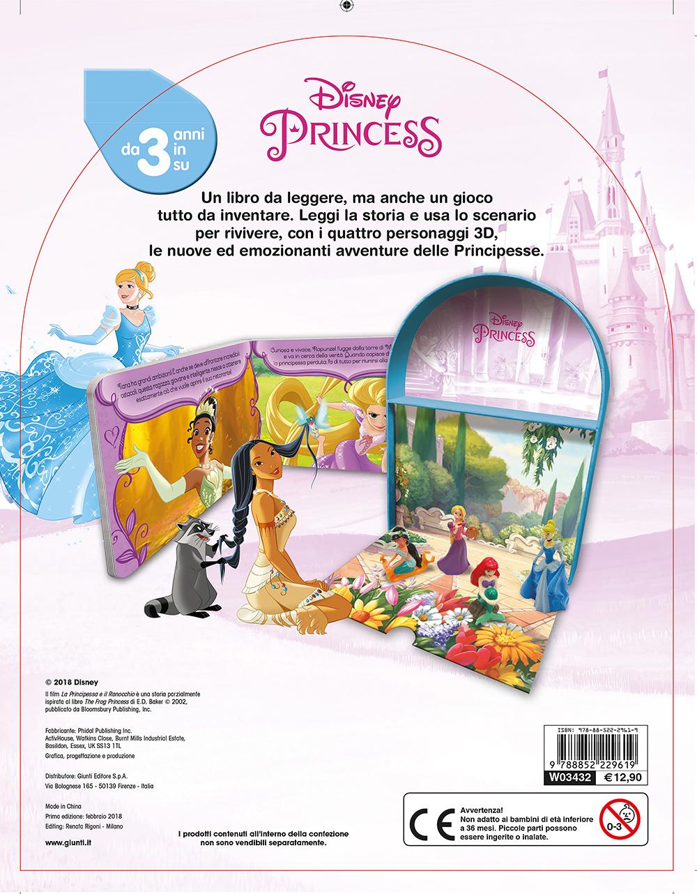 Principesse - LibroGiocaKit