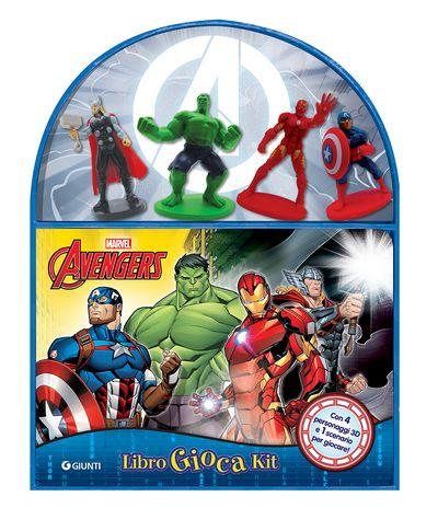 LibroGiocaKit - Avengers