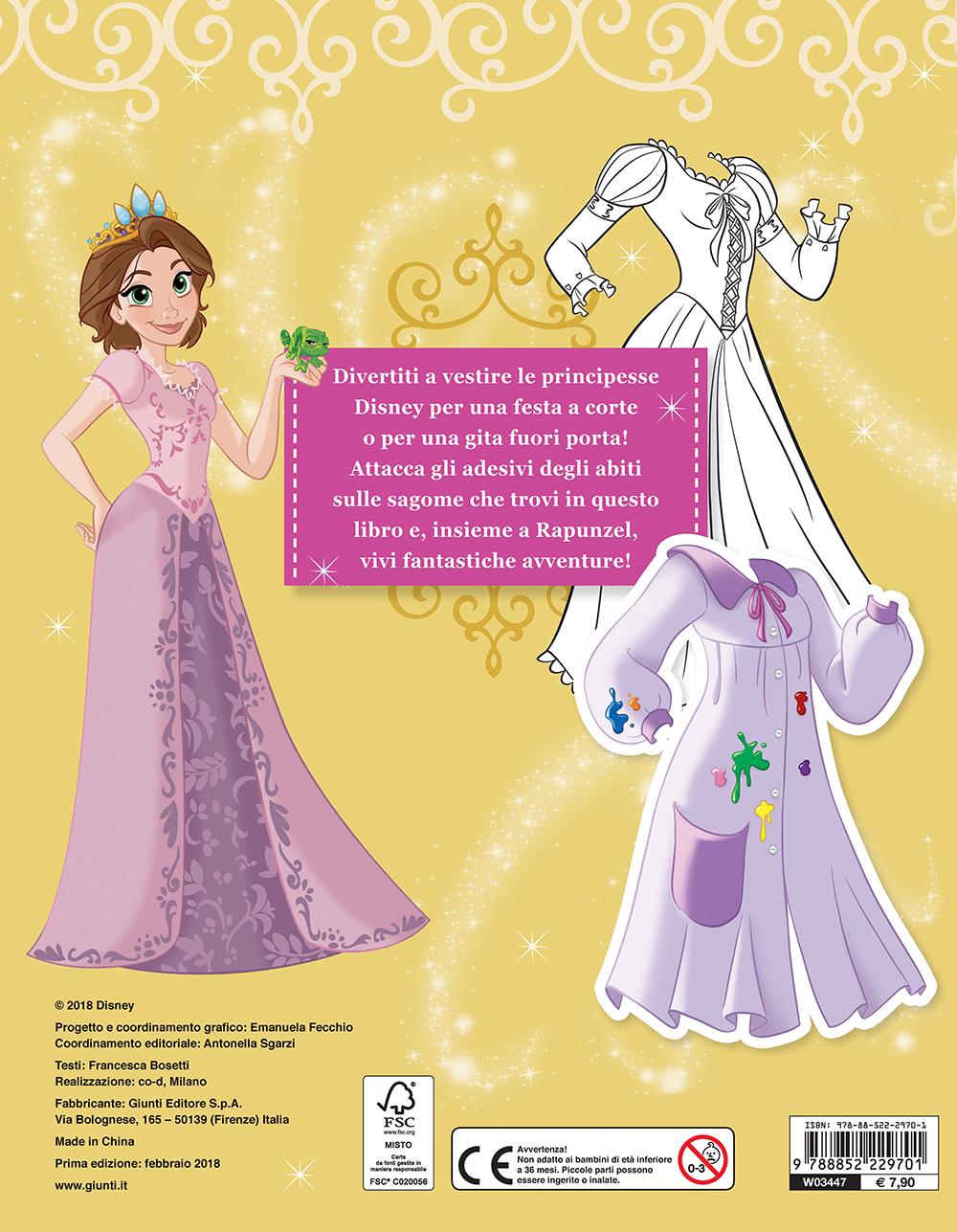 Gioca con la moda - Principesse. Rapunzel