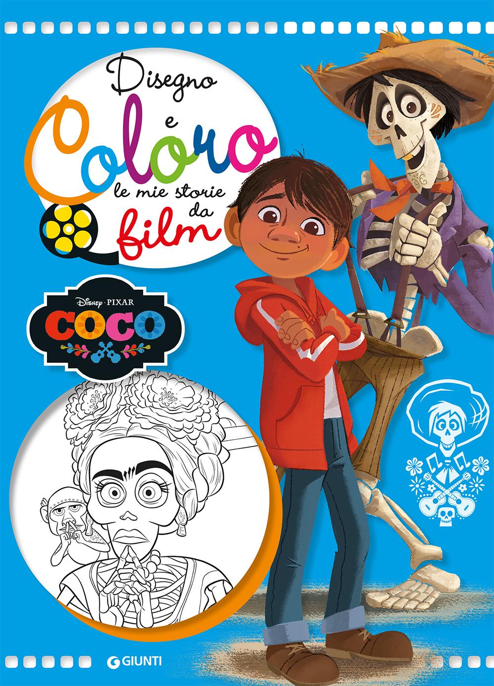 Disegno e Coloro le Mie Storie da Film - Coco